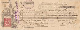 LETRA DE CAMBIO QUE PODEMOS DEFINIRLA COMO UN DOCUMENTO MERCANTIL AÑO 1910 - Documentos Históricos