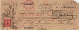 LETRA DE CAMBIO QUE PODEMOS DEFINIRLA COMO UN DOCUMENTO MERCANTIL AÑO 1912 - Documentos Históricos