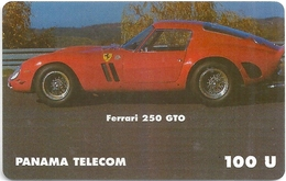 Panama - Panama Telecom (fake) - Car Ferrari 250 GTO - 12.1998, 100U - Panama