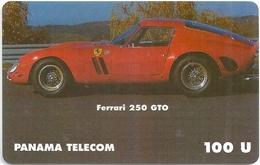 Panama - Panama Telecom (fake) - Car Ferrari 250 GTO - 12.1998, 100U