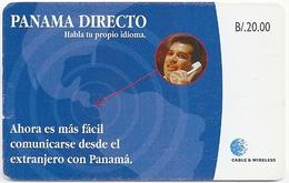 Panama - Cable & Wireless - Panama Directo - SC7, 2000, 100.000ex, Used