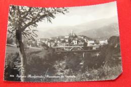 Spigno Monferrato Alessandria Veduta Da Levante 1955 - Italy
