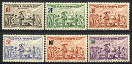 Reunion 1943 Serie N. 180-185 MNH Cat. € 3 - Unused Stamps