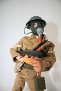 Vintage ACTION MAN : BRITISH INFANTRY - Original Hasbro 1970 - Palitoy - GI JOE - Action Man