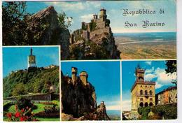 REPUBBLICA SAN MARINO - PRIMA TORRE E PANORAMA  (RSM) - San Marino