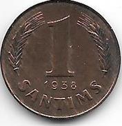 *latvia 1 Santimi 1938  Km 10  Unc !!!! - Latvia
