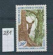 Ivoorkust      Y / T      281       (X) - Côte D'Ivoire (1960-...)