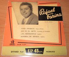 """Rafael Farina 'Vino Amargo - Asi El Arte - Ay, Hermanita - Sombra De Amara 7"""" EP NM/VG+ - Vinyl Records"""