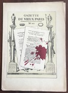 GAZETTE DU VIEUX PARIS N°13 - 1900 - 1949