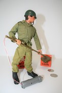 Vintage ACTION MAN EAGLE EYE : MINE DETECTION - Original Hasbro 1970 - Palitoy - GI JOE - Action Man