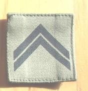 ECUSSON   GRADE   ARMEE   FRANCAISE - Blazoenen (textiel)