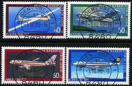 BRD - Michel 1040 / 1043 - Zentrisch OO Gestempelt (D) - Luftfahrt, Jugend 80 - Gebraucht