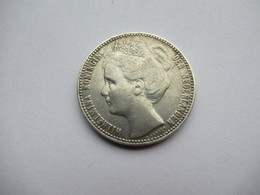 Nederland, 1 Gulden, 1908 - [ 3] 1815-… : Koninkrijk Der Nederlanden