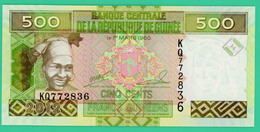 500 Francs - Guinée - N° KQ772836 - 1 Mars 1960 - Sup - - Guinea