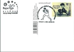 3190 Hungary FDC Olympic Boxing Champion Postcard Unaddressed