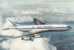 CPSM AIR FRANCE BOEING 707 INTERCONTINENTAL - Flugzeuge