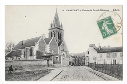 CHATENAY  (cpa 92)   Entrée Du Grand Châtenay -   - L 1 - Chatenay Malabry