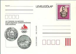 3312d Hungary Postcard Sport Olympic Champion 1896 Athens Swimming Unused