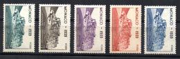 BC /  Monaco  N° 195 à 199  Neuf  XX  MNH  Cote 25,50€ - Nuevos