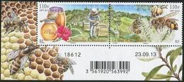 NEW CALEDONIA 2013 Bees, Insects, Honey, Fauna MNH - Nuova Caledonia