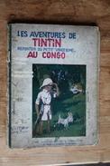 TINTIN AU CONGO - EO En Noir Et Blanc !!! - 4e Mille 2e Plat P2ter - 1931 - Tintin