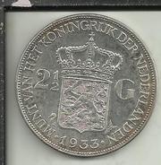 PAESI BASSI 2 1/2 - G -  1933 - [ 6] Monnaies Commerciales