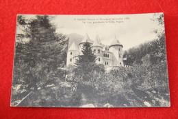 Val Lys Valle Del Lys Aosta Castello Savoya Al Belvedere Ed. Enrico Genta - Italie