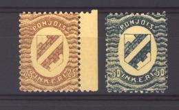 Ingrie - Ingerland :  Yv  3-4  ** - 1919 Occupation Finlandaise