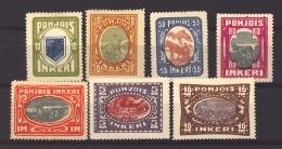 Ingrie - Ingerland :  Yv  8-14  * - 1919 Occupation: Finland