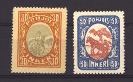 Ingrie - Ingerland :  Yv  9-10  ** - 1919 Occupation Finlandaise