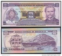 Honduras DEALER LOT ( 5 Pcs ) P 80A - 2 Lempiras 26.8.2004 - UNC - Honduras