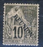 Reunion 1891 N. 22. C. 15 Blu MH Cat. € 65 - Unused Stamps