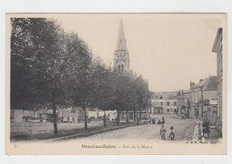 18 - MENETOU SALON / RUE DE LA MAIRIE - France