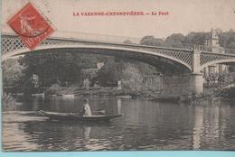 LA VARENNE-CHENNEVIERE - Le Pont - - Chennevieres Sur Marne
