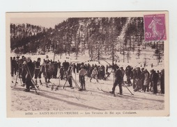 06 - SAINT MARTIN VESUBIE / LES TERRAINS DE SKI AUX COLMIANES - Saint-Martin-Vésubie