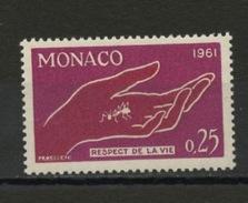 MONACO: - RESPECT DE LA VIE - N° Yvert  554** - Monaco