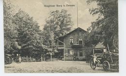GUERRE 1914-18 - ALLEMAGNE - DESSAU - Sieglitzer Berg (carte écrite En 1916 Par Militaire à Sa Famille Près METZ ) - Dessau