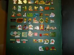 2 Classeurs Collecteur Pour Pins  Avec 58 Pins Differents - Badges
