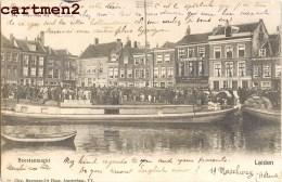 LEIDEN LEYDE BEESTENMARKT NEDERLAND 1900 - Leiden