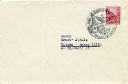 K4199 Brief DDR SSt. Dürrenberg N. Witten - DDR
