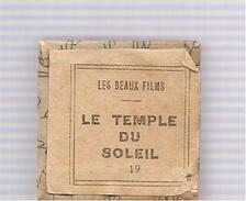 """Hergé Film Fixe N°19 Tintin Et Le Temple Du Soleil D'Hergé Collection """"Les Beaux Films"""" Des Années 1965 - Filmspullen: 35mm - 16mm - 9,5+8+S8mm"""