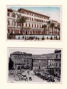 ITALIE : GÊNES. Hôtel Méditerranée, Place Férrari .....Lot De 5 Cpa - Genova (Genoa)