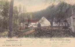 Septfontaines - Ferme De L'ancienne Abbaye (colorisée, Nels, 1906.......adhésif) - Rhode-St-Genèse - St-Genesius-Rode