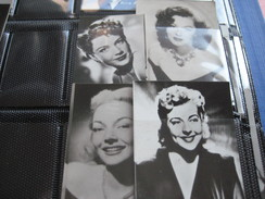 Belgian Chewing Gum Ltd - Only Film Stars - Collection More Than 500 Photos  - 5cmX7cm AND 4cmX5,8cm  From Fifties VG - Magazines