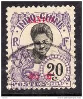 Canton N° 56 O  : 20 C. Violet  Oblitération Légère, Sinon  TB
