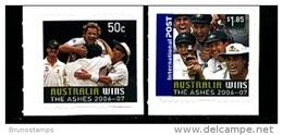 AUSTRALIA - 2007  AUSTRALIA WINS THE ASHES  SELF  ADHESIVE  SET MINT NH - 2000-09 Elizabeth II
