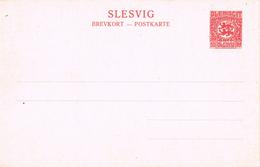 22035. Postkarte SLESVIG Plebiscite 10 Pf (Alemania Reich) Schleswig - Alemania