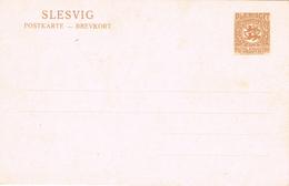 22036. Postkarte SLESVIG Plebiscite 7 1/2 Pf (Alemania Reich) Schleswig - Alemania