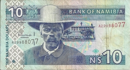 Namibie - Billet De 10 Namibia Dollars - - Namibie