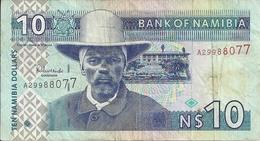 Namibie - Billet De 10 Namibia Dollars - - Namibia
